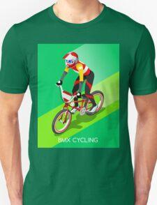 Cycling BMX 2016 Olympics Summer Games  Unisex T-Shirt