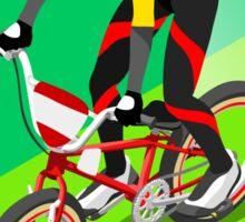 Cycling BMX 2016 Olympics Summer Games  Sticker