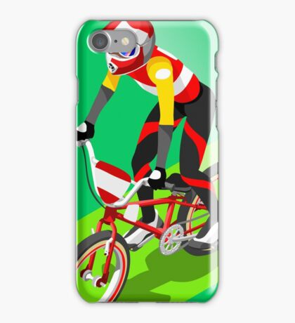 Cycling BMX 2016 Olympics Summer Games  iPhone Case/Skin