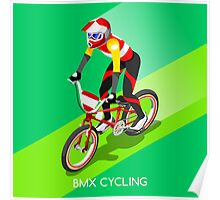 Cycling BMX 2016 Olympics Summer Games  Poster