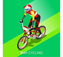 Cycling BMX 2016 Olympics Summer Games  Photographic Print