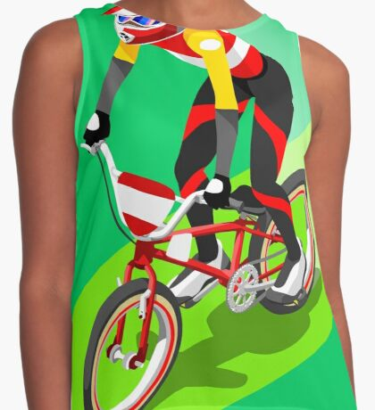 Cycling BMX 2016 Olympics Summer Games  Contrast Tank
