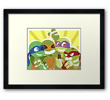 TMNT: All Together Framed Print