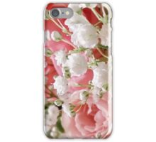 Roses and Babies Breath iPhone Case/Skin