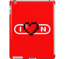 Love Nintendo - Alt 2 iPad Case/Skin