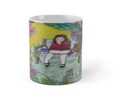 Dreaming in a summer garden Mug