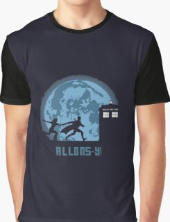 "Doctor Who ""Allons-y"" 10th Doctor Graphic T-Shirt"