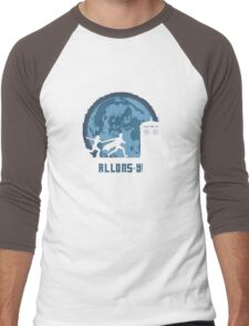 """Doctor Who """"Allons-y"""" 10th Doctor Men's Baseball ¾ T-Shirt"""