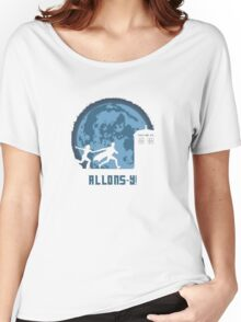 "Doctor Who ""Allons-y"" 10th Doctor Women's Relaxed Fit T-Shirt"