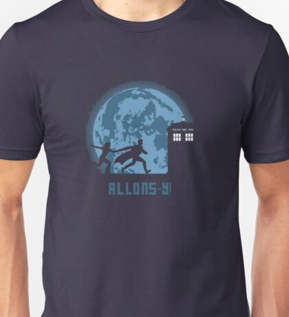 "Doctor Who ""Allons-y"" 10th Doctor Unisex T-Shirt"