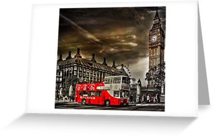 London Sightseeing Tours bus by LudaNayvelt