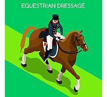 Equestrian Dressage 2016 Olympics Summer Games Photographic Print