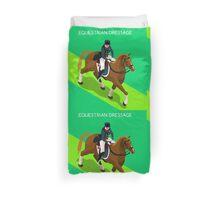Equestrian Dressage 2016 Olympics Summer Games Duvet Cover