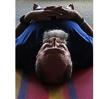 Morning Yoga Photographic Print