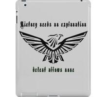 Warhammer 40k Black Eagle 2 iPad Case/Skin