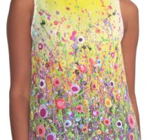 'In Bloom' Contrast Tank