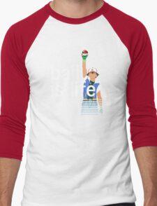 Pokeball Is Life Men's Baseball ¾ T-Shirt