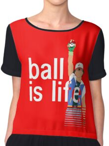 Pokeball Is Life Chiffon Top