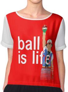 Pokeball Is Life Chiffon Top