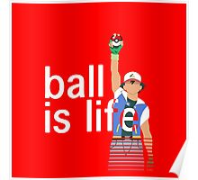Pokeball Is Life Poster