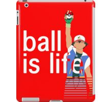 Pokeball Is Life iPad Case/Skin
