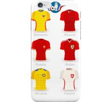 France EURO 2016 Apparel Icons iPhone Case/Skin
