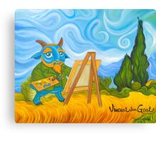 Vincent van Goat Canvas Print