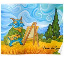 Vincent van Goat Poster