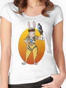 Im a hero! Women's Fitted Scoop T-Shirt