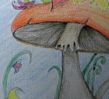 Fairy Dreams Afternoon Nap Sticker