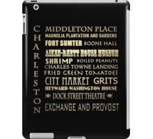 Charleston South Carolina Famous Landmarks iPad Case/Skin