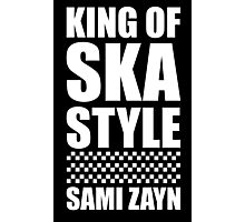 King Of Ska Style Photographic Print