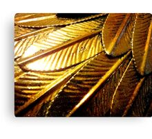 On Gilded Wings 1 Canvas Print
