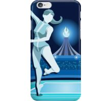 Gymnastics Background Olympics Summer Games 2016 Vector Illustration iPhone Case/Skin