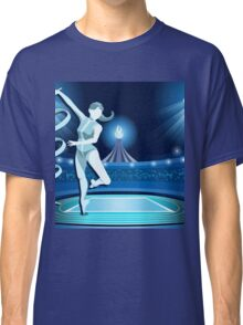 Gymnastics Background Olympics Summer Games 2016 Vector Illustration Classic T-Shirt