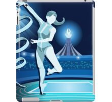 Gymnastics Background Olympics Summer Games 2016 Vector Illustration iPad Case/Skin
