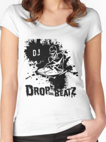 splash the dj Women's Fitted Scoop T-Shirt