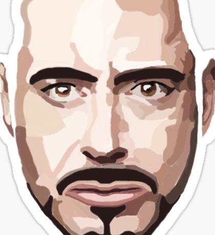 Robert Downey Jr Sticker