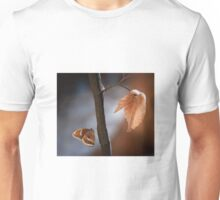 Butterfly on a branch Unisex T-Shirt