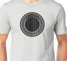 Flamenco Player (Gray) Unisex T-Shirt