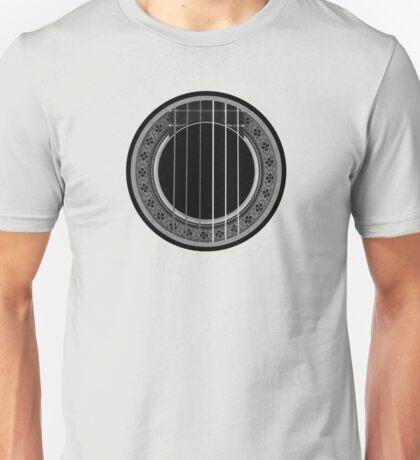 Flamenco Player (Gray) Unisex T-Shirt