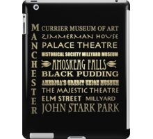 Manchester New Hampshire Famous Landmarks iPad Case/Skin