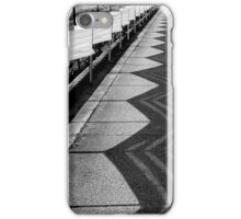 Construction Site Shadows iPhone Case/Skin