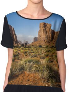 Monument Valley, USA Chiffon Top