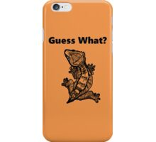 "Crested Gecko ""Guess What? Frog Butt"" iPhone Case/Skin"
