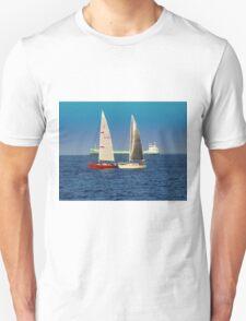 Sailing on Superior Unisex T-Shirt