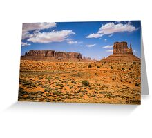 Monument Valley, USA Greeting Card