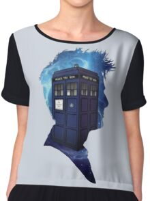Doctor Who 10th Doctor Chiffon Top