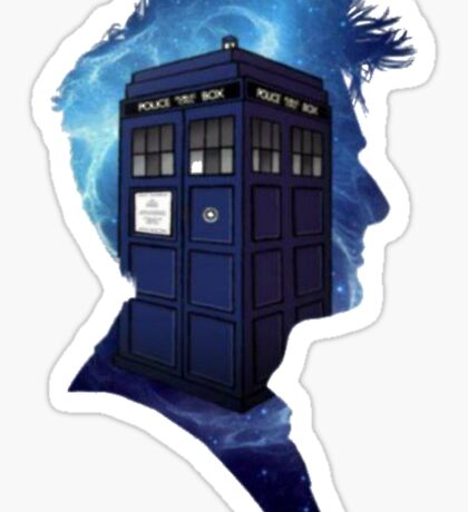 Doctor Who 10th Doctor Sticker