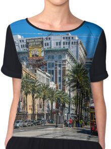 New Orleans Chiffon Top